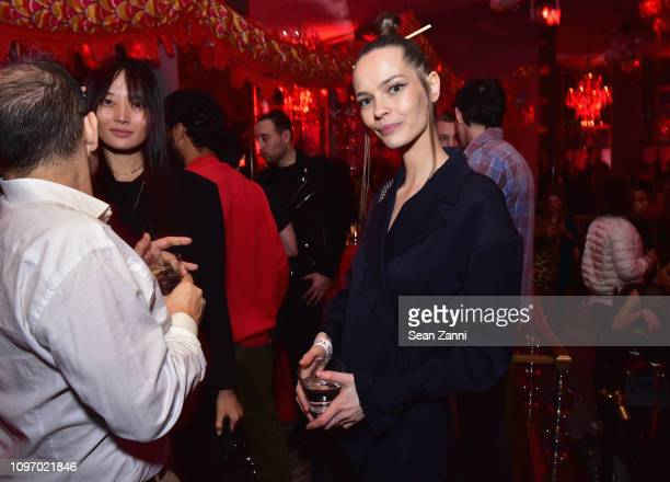 A guest attends Alex Wang's Big Trouble In Little China At The Rainbow Room Powered by Cash App on February 9 2019 at The Rainbow Room in New York...