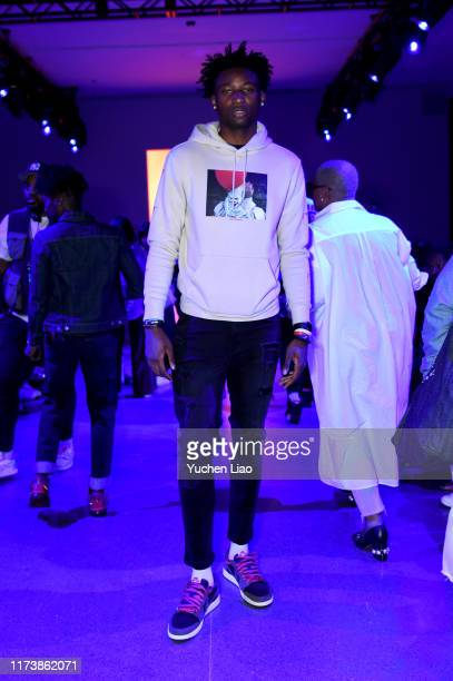A guest attends Aliette fashion show during New York Fashion Week The Shows at Gallery II at Spring Studios on September 11 2019 in New York City