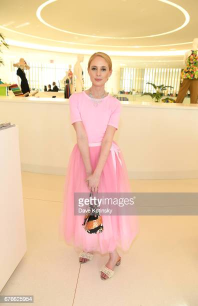A guest attends as Saks Fifth Avenue and Vanity Fair Celebrate the 2017 International BestDressed List on May 2 2017 in New York City