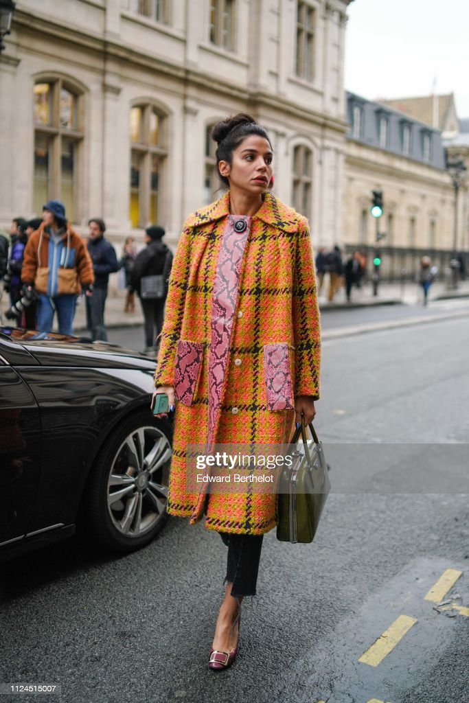Jean Paul Gaultier : Street Style - Paris Fashion Week - Haute Couture - Spring Summer 2019 : News Photo