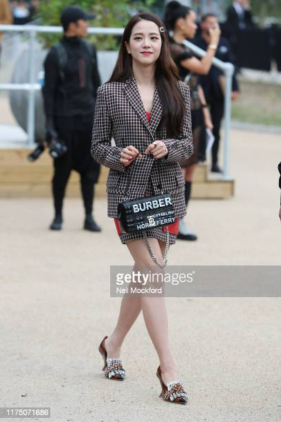 Guest attends Burberry at Troubadour White City Theatre during LFW September 2019 on September 16 2019 in London England