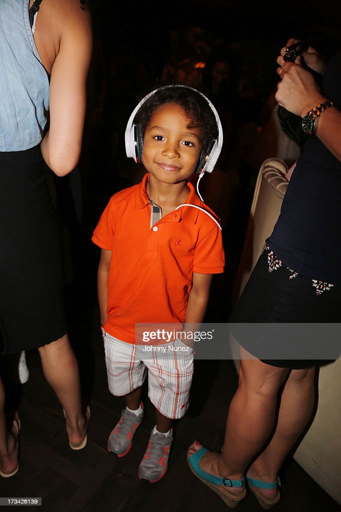 A guest attends DJ Fulano's 10th Birthday Bash at No. 8 on July 13, 2013 in New York City.