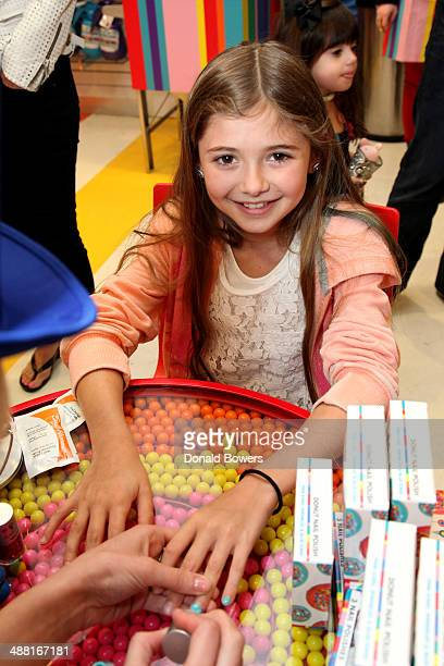 A guest attends Dylan's Candy Bar Candy Girl Collection NYC Launch Event at Dylan's Candy Bar on May 4 2014 in New York City