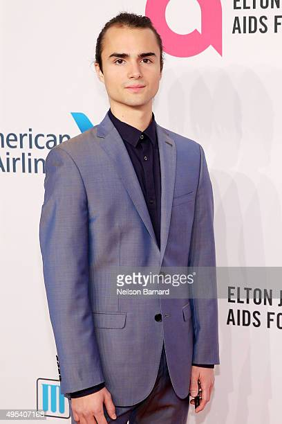 Guest attends Elton John AIDS Foundation's 14th Annual An Enduring Vision Benefit at Cipriani Wall Street on November 2 2015 in New York City