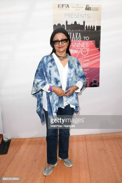 Guest attends From Dhaka to Cannes A Celebration of Talent hosted by the International Emerging Film Talent Association at La Plage Royale on May 19...
