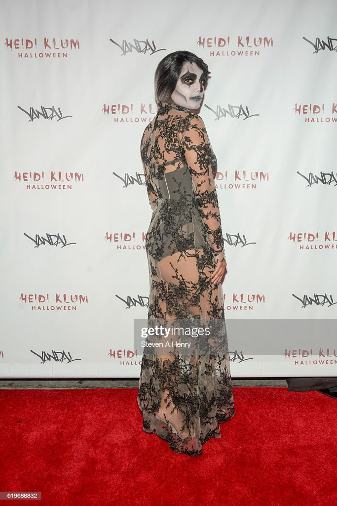 A guest attends Heidi Klum's 17th Annual Halloween Party at Vandal on October 31, 2016 in New York City.