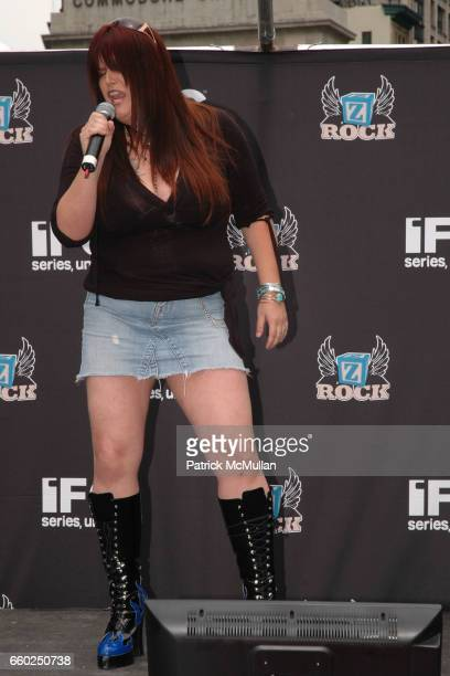 Guest attends IFC CELEBRATES SEASON 2 OF ROCK WITH AMERICA'S HOTTEST ROCKER MOM CONTEST at Madison Square Park on June 3 2009 in New York