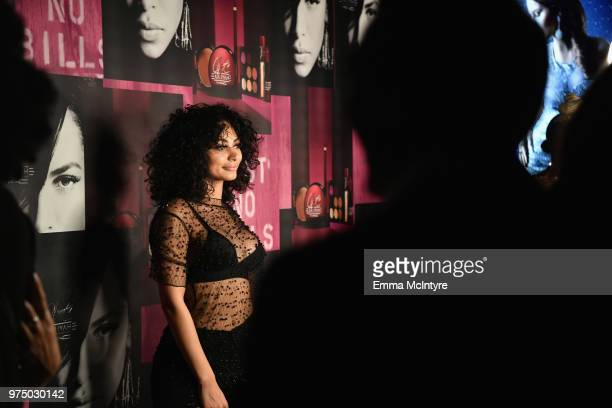 Guest attends MAC Cosmetics Aaliyah Launch Party on June 14 2018 in Hollywood California