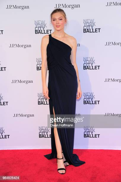 Guest attends New York City Ballet 2018 Spring Gala at David H Koch Theater Lincoln Center on May 3 2018 in New York City