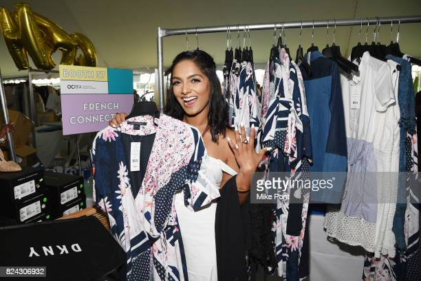 A guest attends OCRFA's 20th Annual Super Saturday to Benefit Ovarian Cancer on July 29 2017 in Watermill New York
