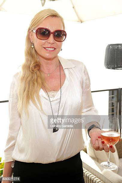 A guest attends Sabine Brouillet's jewelry pop up hosted by Nikita Kahn and Katya Teper at Nobu Malibu on December 14 2016 in Malibu California