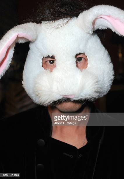 guest attends SyFy's 'Monster Man' Cleve A Hall's Annual Halloween Party held at a private location on October 31 2013 in Encino California