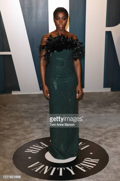 Guest attends the 2020 Vanity Fair Oscar Party at Wallis Annenberg Center for the Performing Arts on February 09, 2020 in Beverly Hills, California.