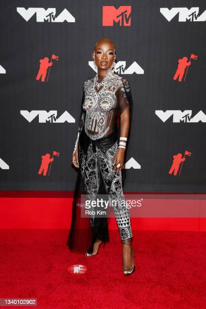 Guest attends the 2021 MTV Video Music Awards at Barclays Center on September 12, 2021 in the Brooklyn borough of New York City.