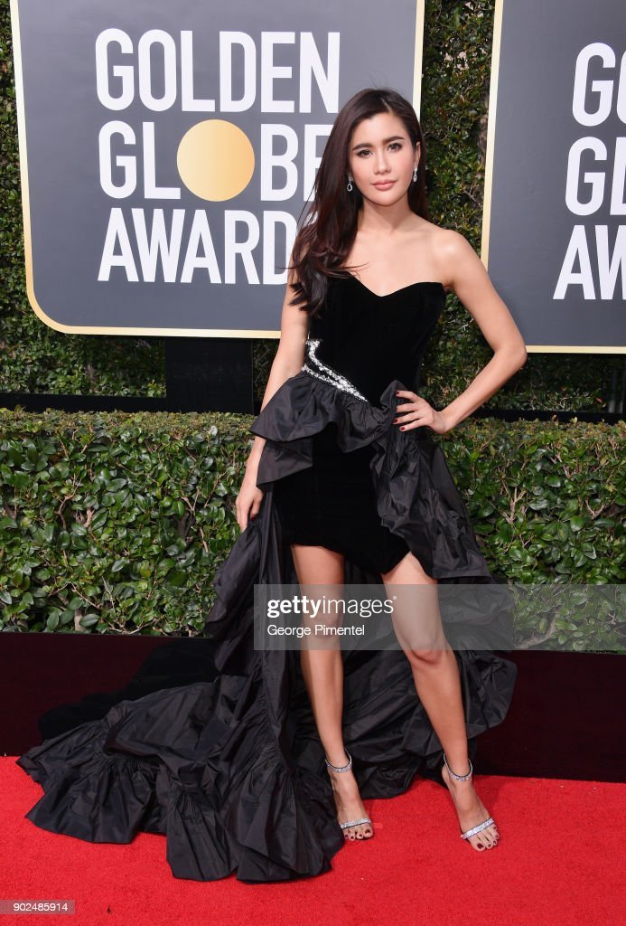 Guest attends The 75th Annual Golden Globe Awards at The Beverly Hilton Hotel on January 7, 2018 in Beverly Hills, California.