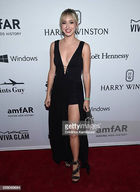 Guest attends the 7th Annual amfAR Inspiration Gala at Skylight at Moynihan Station on June 9 2016 in New York City