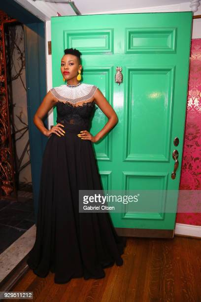 Guest attends The African Getdown Hosted by Common at the Private Residence of Jonas Tahlin CEO Absolut Elyx on March 8 2018 in Los Angeles California
