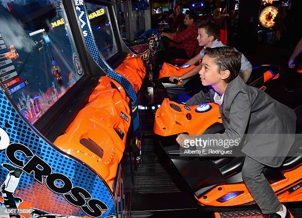 """Guest attends the after party for The World Premiere of Disney's """"Alexander and the Terrible, Horrible, No Good, Very Bad Day"""" at Dave & Busters on..."""
