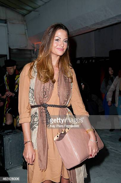 Guest attends the Antonio Ortega show as part of Paris Fashion Week Haute Couture Spring/Summer 2015> on January 28 2015 in Paris France