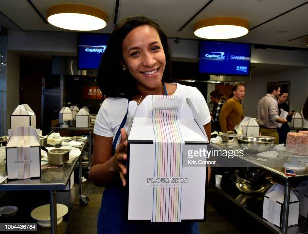 Guest attends the Cake Decorating Master Class at Institute of Culinary Education on October 13 2018 in New York City