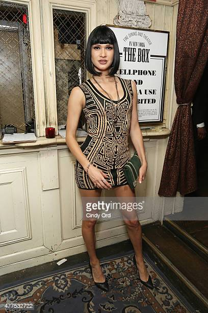 A guest attends the Casa Reale Fine Jewelry Launch at The Box on June 17 2015 in New York City