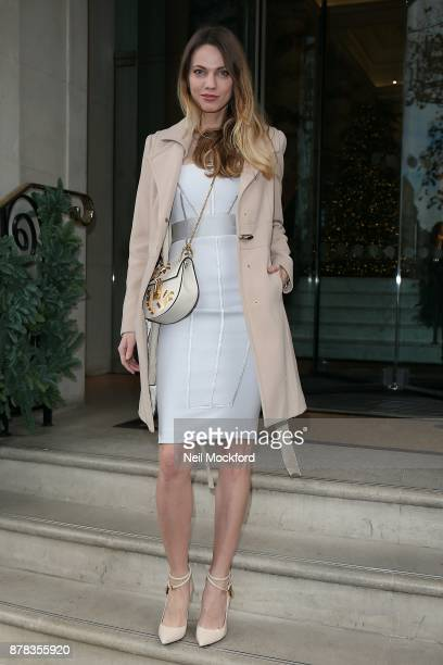 Guest attends the Caudwell Children Ladies Lunch at The Langham Hotel on November 24 2017 in London England