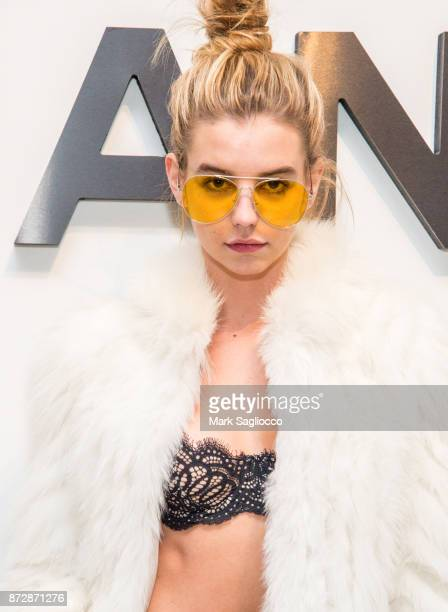 Guest attends the CHANEL celebration of the launch of The Coco Club at The Wing Soho on November 10 2017 in New York City