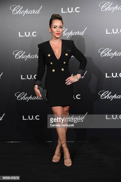 Guest attends the Chopard Gentleman's Night during the 71st annual Cannes Film Festival at Martinez Hotel on May 9 2018 in Cannes France