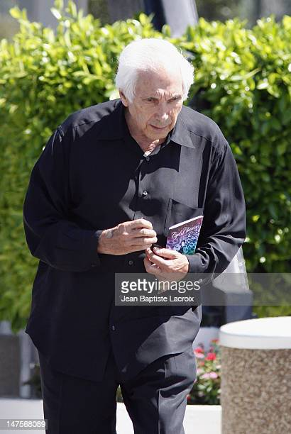 Guest attends the Cyd Charisse's Funeral Service at Hillside Memorial Park on June 22 2008 in Culver City California