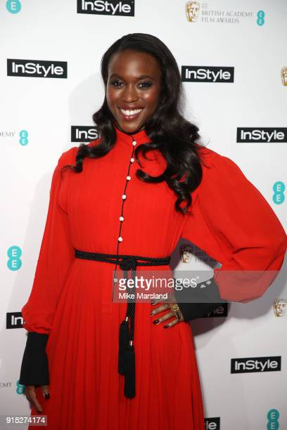 Guest attends the EE InStyle Party held at Granary Square Brasserie on February 6 2018 in London England