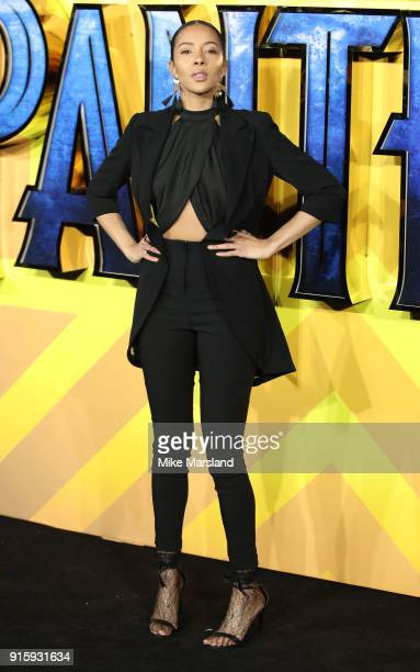 Guest attends the European Premiere of 'Black Panther' at Eventim Apollo on February 8 2018 in London England