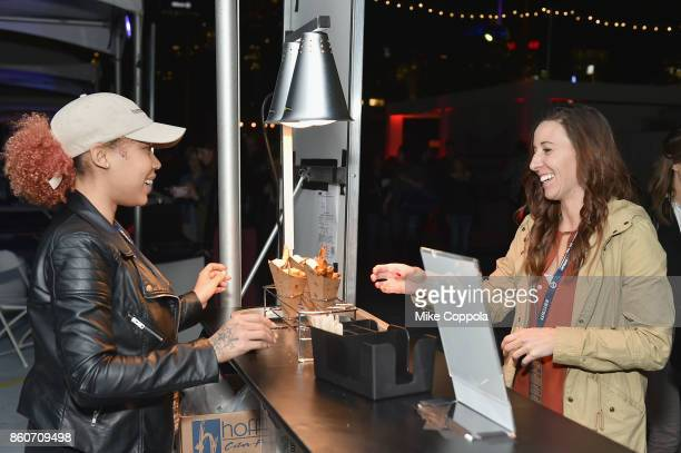 Guest attends The Food Network & Cooking Channel New York City Wine & Food Festival Presented By Coca-Cola - Smorgasburg presented by Thrillist...