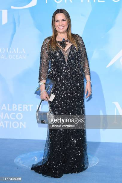 Guest attends the Gala for the Global Ocean hosted by H.S.H. Prince Albert II of Monaco at Opera of Monte-Carlo on September 26, 2019 in Monte-Carlo,...
