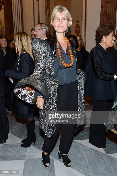 Guest attends the gala party celebrating the 2012 International Herald Tribune's Luxury Business Conference held at Musei Capitolini on November 15,...