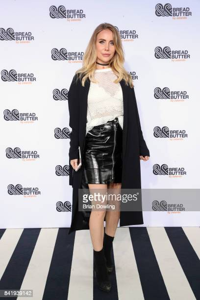 guest attends the Hugo fashion show during the Bread Butter by Zalando at BB Stage arena Berlin on September 2 2017 in Berlin Germany