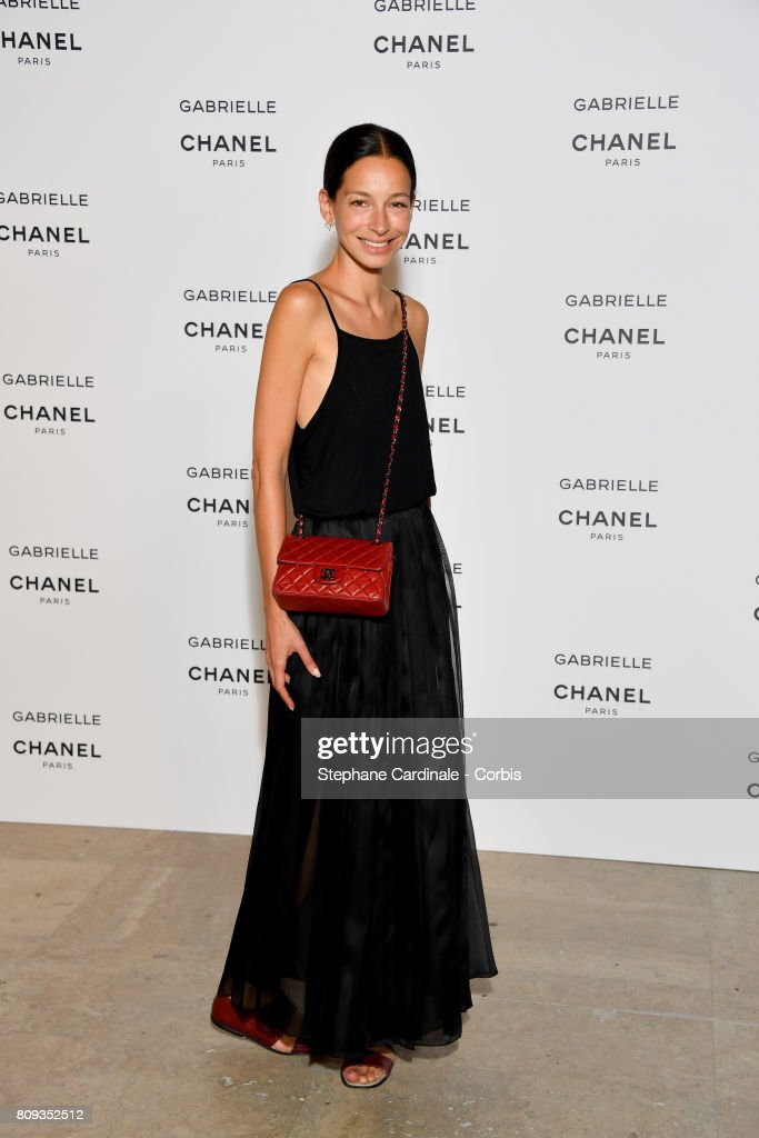Guest attends the launching Party of Chanel's new perfume 'Gabrielle' as part of Paris Fashion Week on July 4, 2017 in Paris, France.