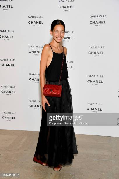Guest attends the launching Party of Chanel's new perfume 'Gabrielle' as part of Paris Fashion Week on July 4 2017 in Paris France