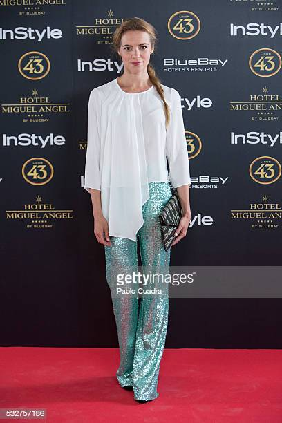 Mariona Tena attends the 'Live in Colors' photocall during the InStyle Beauty Day at the Miguel Angel Hotel Garden on May 19 2016 in Madrid Spain