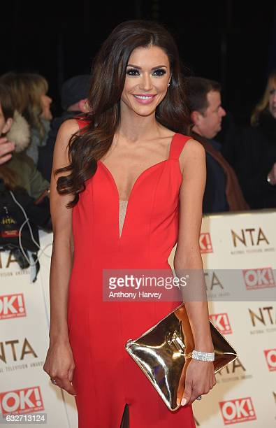 Guest attends the National Television Awards on January 25 2017 in London United Kingdom