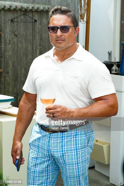 Guest attends the Nicole Miller Walk N' Rosé Event With Group For The East End on August 18, 2019 in Sag Harbor, New York.