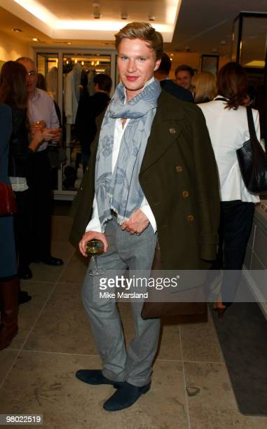 Guest attends the opening of the ''By Malene Birger'' flagship store on March 24 2010 in London England