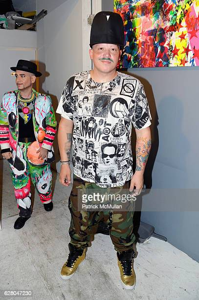 Guest attends the Patricia Field Art Basel Debut with Art Fashion Pop Up and Runway Presentation at The White Dot Gallery in Wynwood on December 1...