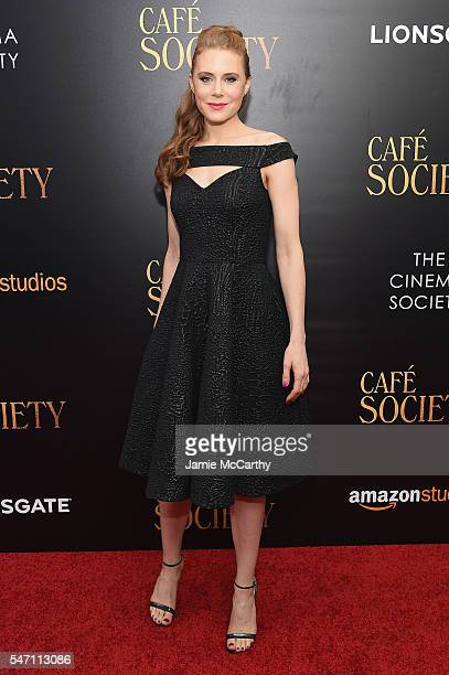 Guest attends the premiere of Cafe Society hosted by Amazon Lionsgate with The Cinema Society at Paris Theatre on July 13 2016 in New York City