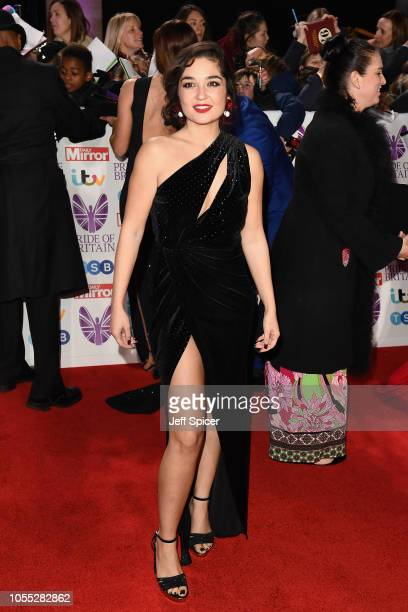 Guest attends the Pride of Britain Awards 2018 at The Grosvenor House Hotel on October 29 2018 in London England