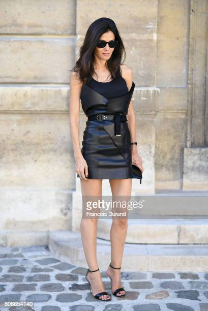 A guest attends the Repossi Presentation during Haute Couture Fall/Winter 20172018 as part of Haute Couture Paris Fashion Week on July 4 2017 in...