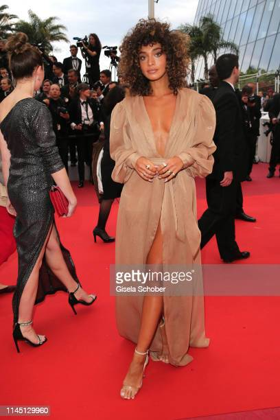 """Guest attends the screening of """"A Hidden Life """" during the 72nd annual Cannes Film Festival on May 19, 2019 in Cannes, France."""