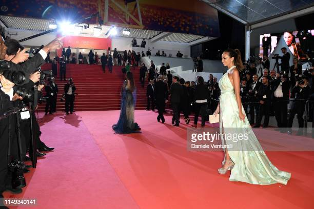 "Guest attends the screening of ""Bacurau"" during the 72nd annual Cannes Film Festival on May 15, 2019 in Cannes, France."