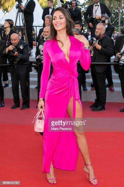 A guest attends the screening of 'Capharnaum' during the 71st annual Cannes Film Festival at Palais des Festivals on May 17 2018 in Cannes France