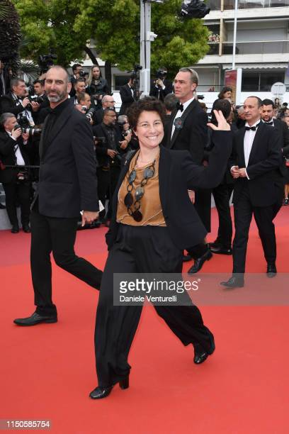 A guest attends the screening of La Belle Epoque during the 72nd annual Cannes Film Festival on May 20 2019 in Cannes France