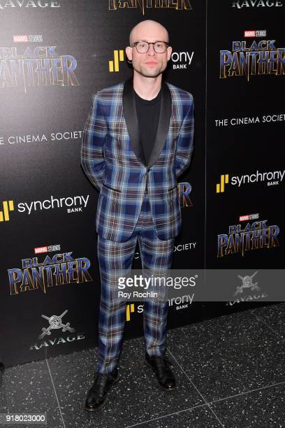 Guest attends the screening of Marvel Studios' 'Black Panther' hosted by The Cinema Society on February 13 2018 in New York City